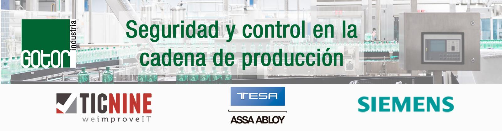 Seminario Online sobre Seguridad y Control en la Cadena de Producción